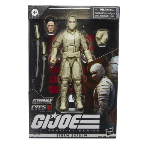 (preorder ETA Aug/Sept) G.I. Joe Classified Series Storm Shadow Action Figure - Toy Snowman