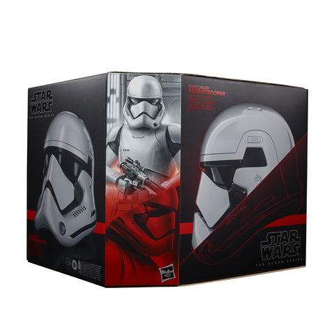 (preorder June)Star Wars The Black Series First Order Stormtrooper Electronic Helmet - Toy Snowman