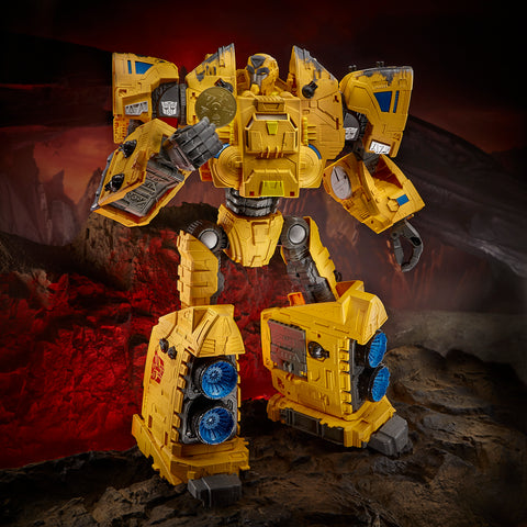 (preorder ETA July/Aug) Transformers Toys Generations War for Cybertron: Kingdom Titan WFC-K30 Autobot Ark Action Figure -19-inch - Toy Snowman