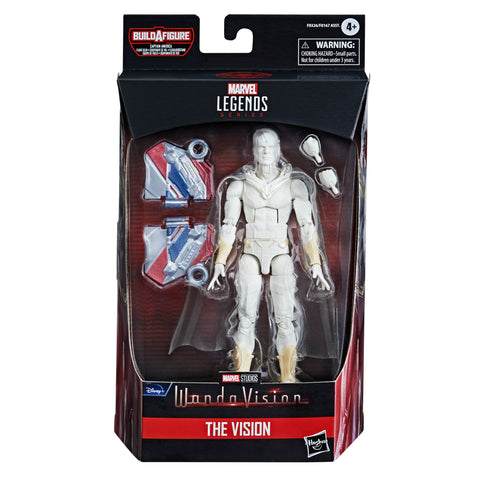 (preorder June/july) Hasbro Marvel Legends Series Avengers 6-inch Action Figure Vision White - Toy Snowman