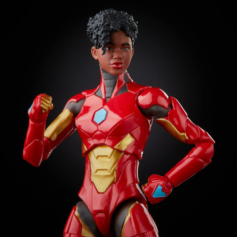 (preorder July/Aug) Hasbro Marvel Legends Series Ironheart (Ursa Major Baf)