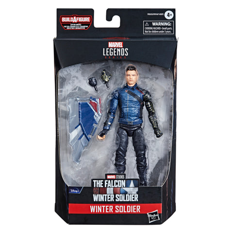 (preorder June/july) Hasbro Marvel Legends Series 6-inch Winter Soldier - Toy Snowman
