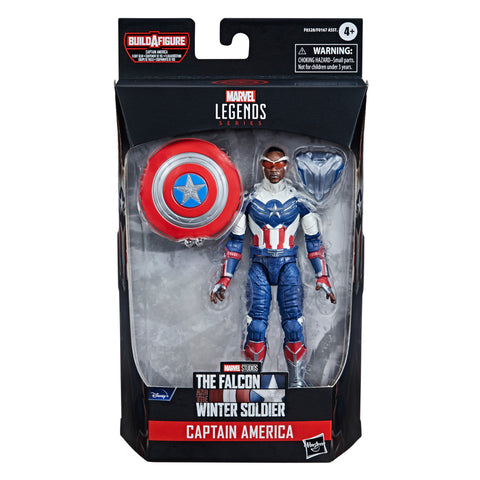 (preorder June/july) Hasbro Marvel Legends Series Avengers 6-inch Captain America: Sam Wilson - Toy Snowman