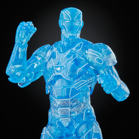 (preorder July/Aug) Hasbro Marvel Legends Series Hologram Iron Man (Ursa Major Baf)