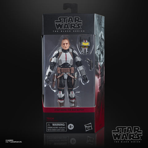 (preorder Aug/Sept)  Star Wars The Black Series Tech Toy 6-Inch-Scale Star Wars: The Bad Batch Collectible Figure