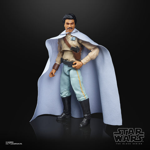 (preorder ETA Aug/Sept) Star Wars The Black Series General Lando Calrissian Toy 6-Inch-Scale Star Wars: Return of the Jedi Figure - Toy Snowman
