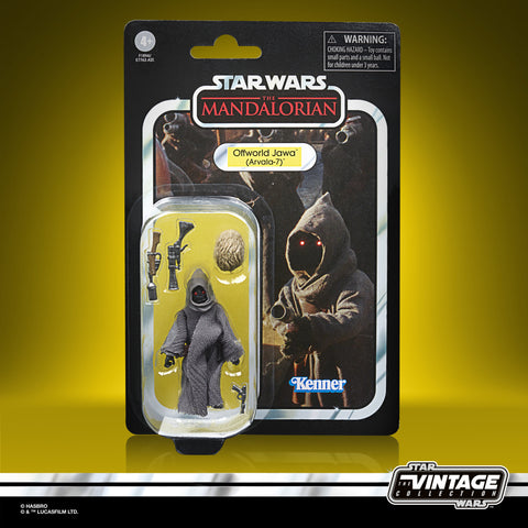 (preorder Aug/Sept) Star Wars The Vintage Collection Offworld Jawa (Arvala-7) - Toy Snowman
