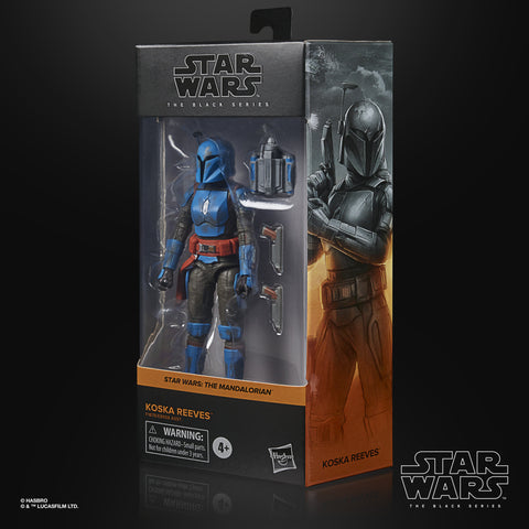 (preorder  ETA Aug/Sept) Star Wars The Black Series Koska Reeves Toy 6-Inch-Scale The Mandalorian Collectible Figure, - Toy Snowman