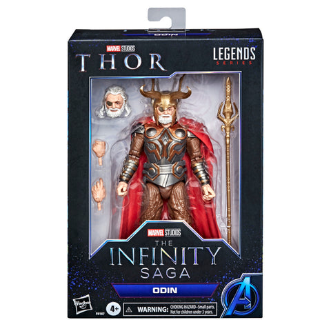 (preorder Aug/Sept) Hasbro Marvel Legends Series 6-inch Odin Infinity saga - Toy Snowman