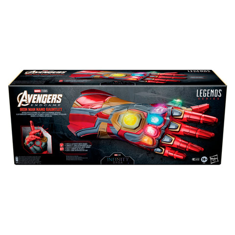 (preorder Oct/Nov) Marvel Legends Series Iron Man Nano Gauntlet