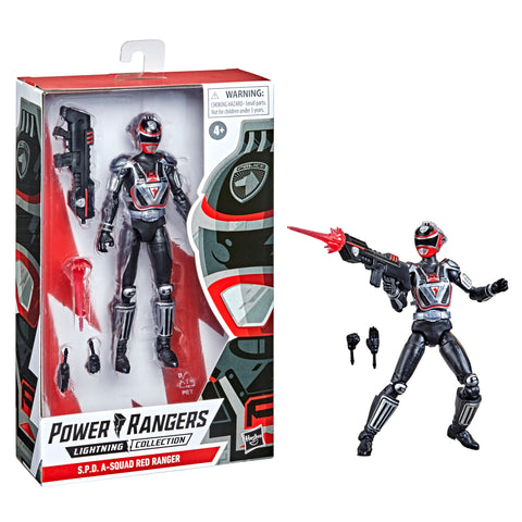 (Preorder ETA Sept/Oct) Power Rangers Lightning Collection S.P.D. A-Squad Red Ranger Action Figure - Toy Snowman