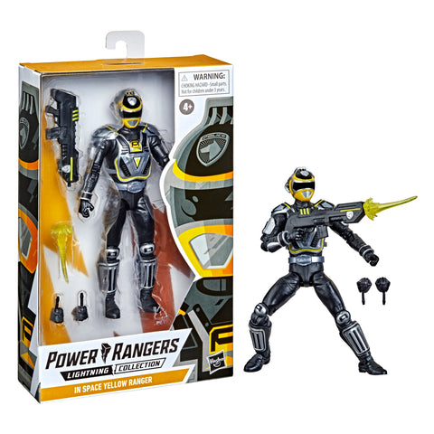 (preorder Sept/Oct ) power Rangers Lightning Collection S.P.D. A-Squad Yellow Ranger Figure - Toy Snowman