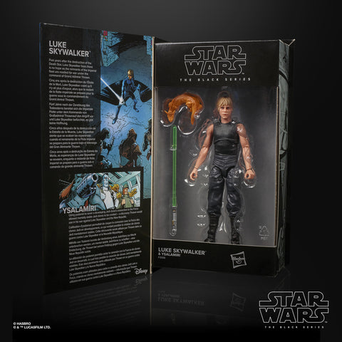 (preorder ETA May-July) Star Wars The Black Series Luke Skywalker & Ysalamiri - Toy Snowman