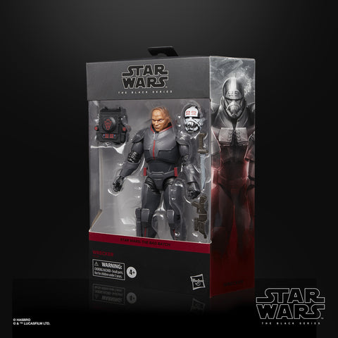 (preorder August) Star Wars The Black Series Wrecker 6-Inch-Scale Star Wars: The Bad Batch Collectible Deluxe Figur - Toy Snowman