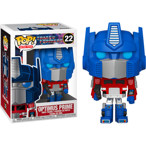 TRANSFORMERS OPTIMUS PRIME FUNKO POP! VINYL #22