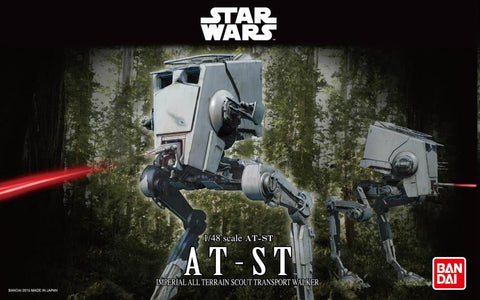 Bandai Star Wars AT-ST (Return of the Jedi) 1/48 Scale Model Kit - Toy Snowman