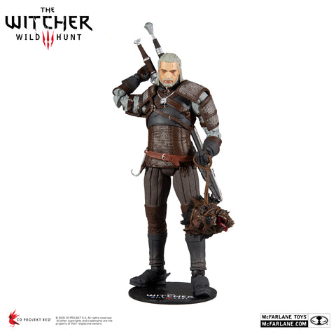 The Witcher 3: The Wild Hunt Geralt of Rivia Series 1 Action Figure - Toy Snowman