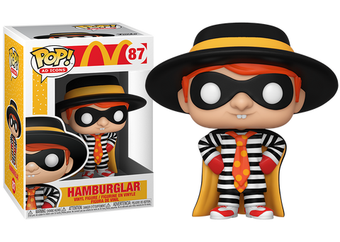 Funko Pop! AD Icons Mcdonald's Hamburglar 87 Vinyl Figure