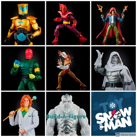 (preorder June) Marvel Legends Super Villains Wave 1 Set of 7 Figures (Xenmu BAF) - Toy Snowman