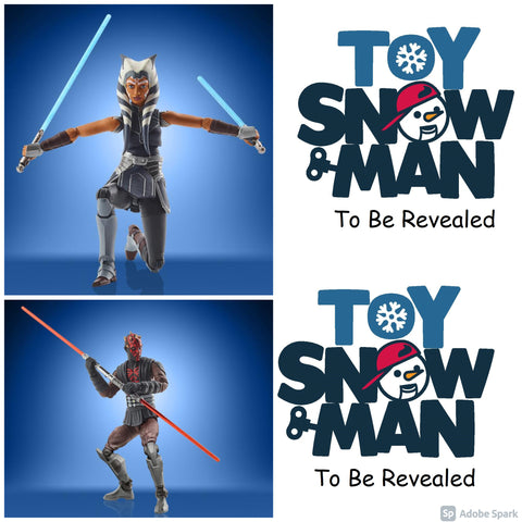 (preorder Aug/Sept) Star Wars: The Vintage Collection Wave 33 Set of 4 Figures - Toy Snowman