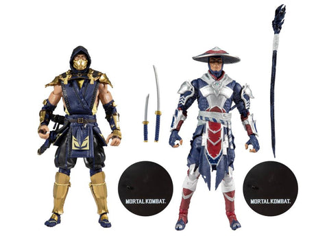 Mortal Kombat XI Scorpion & Raiden Two-Pack - Toy Snowman