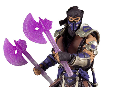 Mortal Kombat XI Sub Zero (Winter Purple) Action Figure - Toy Snowman