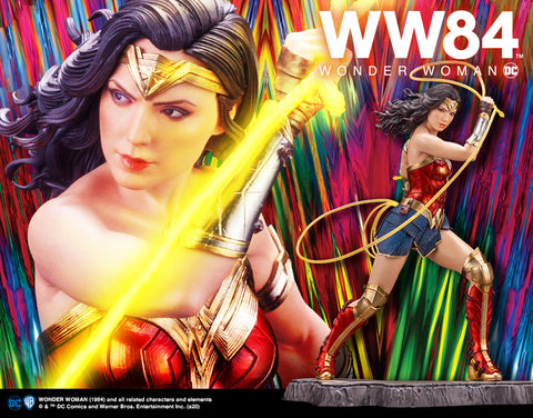 WONDER WOMAN 1984 MOVIE WONDER WOMAN ARTFX STATUE - Toy Snowman