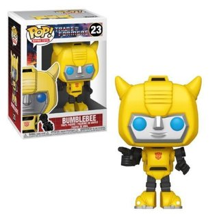 Funko Pop! Retro Toys: Transformers - Bumblebee, Multicolor #23