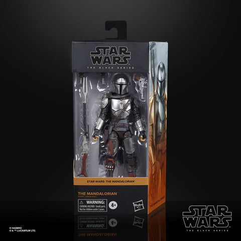 "(Batch 4 Preorder) Star Wars: The Black Series 6"" The Mandalorian (Beskar Armor) MAX 2 Per Customer - Toy Snowman"