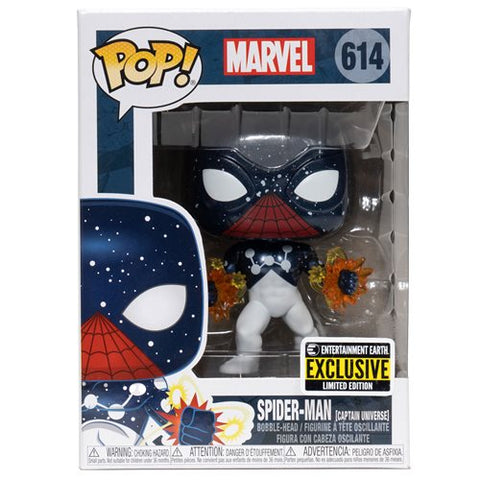 Spider-Man Captain Universe Pop! Vinyl Figure - Entertainment Earth Exclusive - Toy Snowman