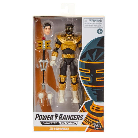 Power Rangers Zeo Lightning Collection Gold Ranger - Toy Snowman