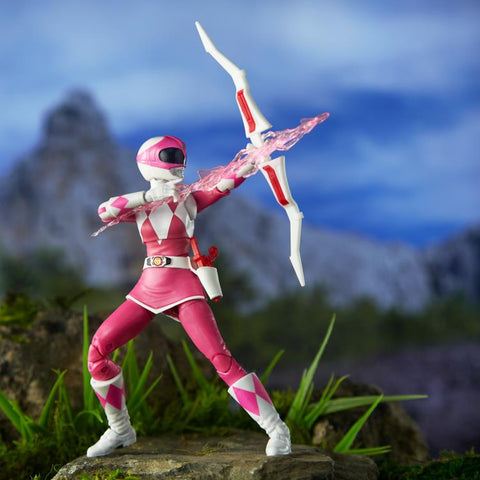Mighty Morphin Power Rangers Lightning Collection Pink Ranger - Toy Snowman
