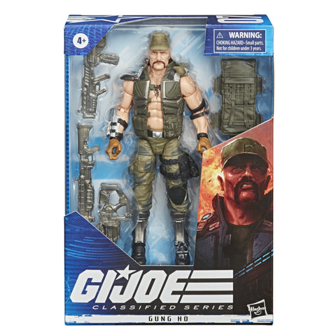 G.I. Joe Classified Series Gung Ho Action Figure 07 - Toy Snowman