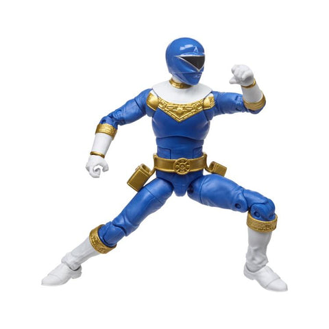 Power Rangers Zeo Lightning Collection Blue Ranger - Toy Snowman