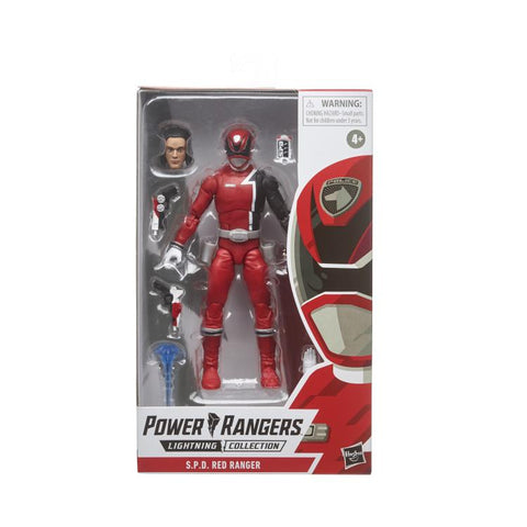 Power Rangers S.P.D. Lightning Collection Red Ranger - Toy Snowman