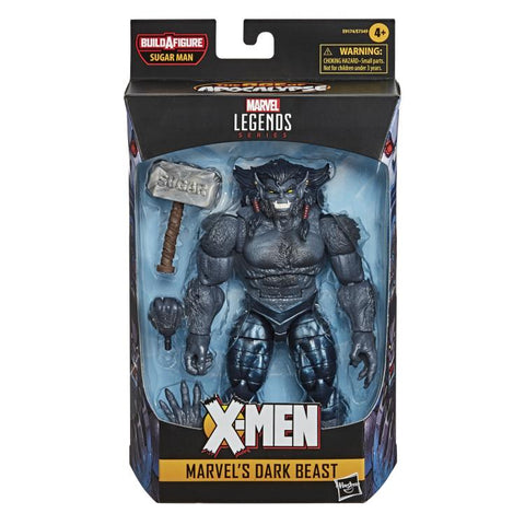 X-Men Marvel Legends Marvel's Dark Beast (Sugar Man BAF) - Toy Snowman