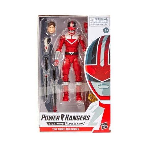 Power Rangers Time Force Lightning Collection Red Ranger - Toy Snowman