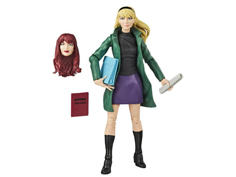Spider-Man Marvel Legends Retro Collection Gwen Stacy - Toy Snowman