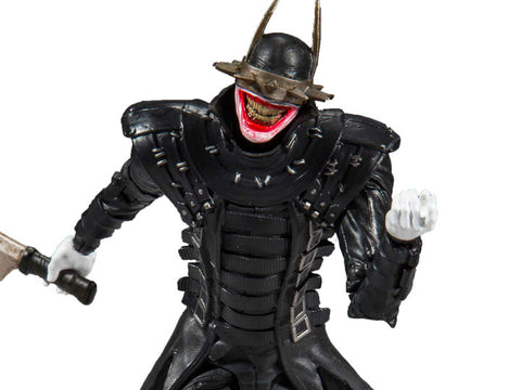 Dark Nights: Metal DC Multiverse The Batman Who Laughs Action Figure (DC Rebirth Build-A-Batmobile) - Toy Snowman