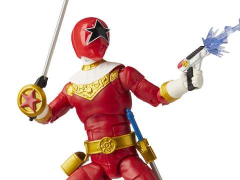 Power Rangers Zeo Lightning Collection Red Ranger - Toy Snowman