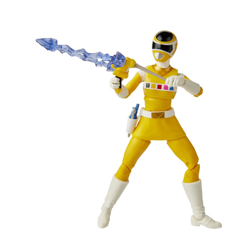 Power Rangers Lightning Collection In Space Yellow Ranger Figure - Toy Snowman