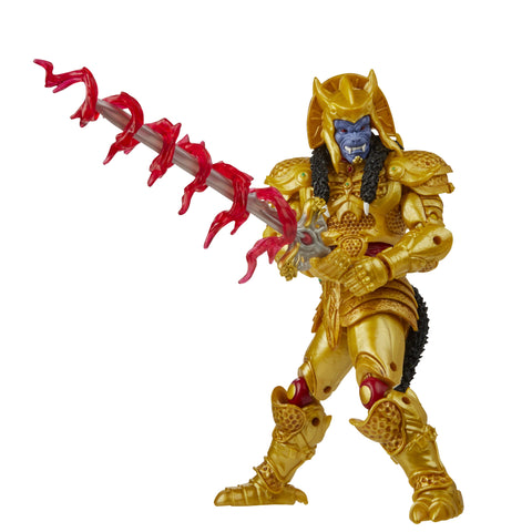 Power Rangers Lightning Collection Mighty Morphin Goldar Figure - Toy Snowman