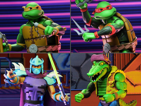 TMNT: Turtles in Time Wave 2 Set of 4 Figures - Toy Snowman