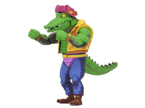 TMNT: Turtles in Time Michelangelo Leatherhead - Toy Snowman