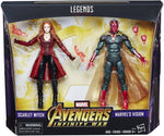 Hasbro Marvel Legends Toys R Us Exclusive Avengers Infinity War 2-Pack Vision and Scarlet Witch - Toy Snowman