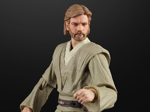 "Star Wars: The Black Series 6"" Obi-Wan Kenobi (Attack of the Clones) - Toy Snowman"