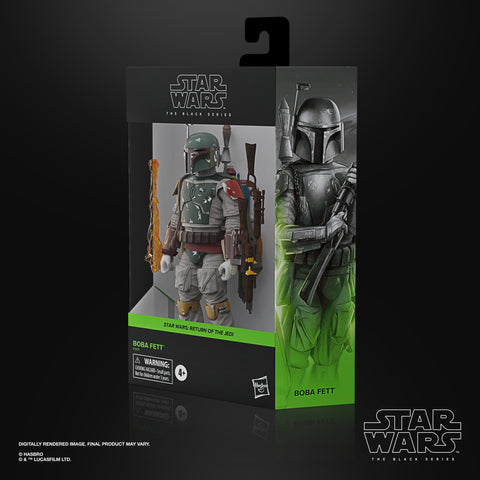(pre-Order batch 2 ) Star Wars The Black Series Boba Fett 6-Inch-Scale Star Wars: Return of the Jedi Collectible Deluxe Figure, Ages 4 and Up - Toy Snowman