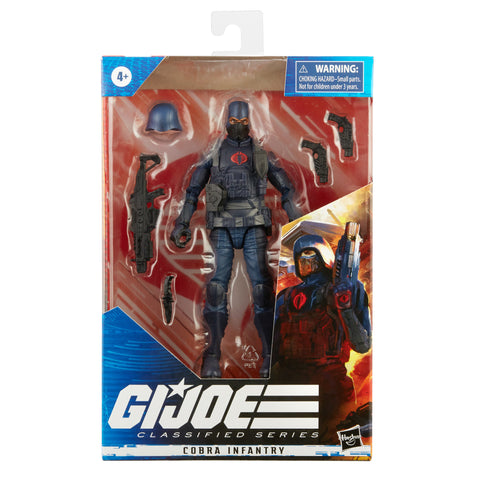 (pre-Order batch 2 ) G.I. Joe Classified Series Series Cobra Infantry Action Figure 24 - Toy Snowman