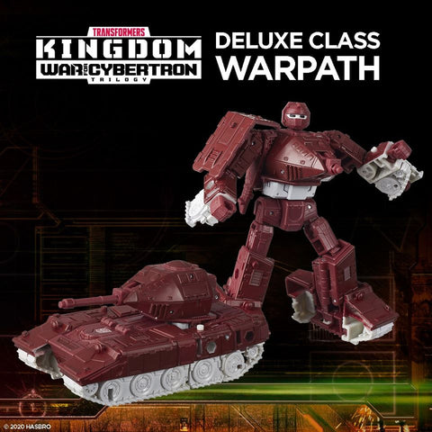Transformers War for Cybertron Kingdom DELUXE WARPATH - Toy Snowman