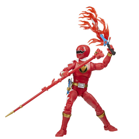 Power Rangers Lightning Collection Dino Thunder Red Ranger 6-Inch - Toy Snowman